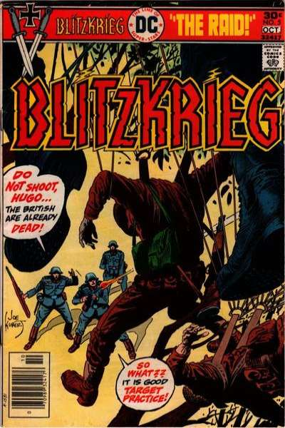Blitzkrieg #5 comic books for sale