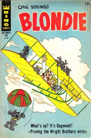 Blondie Comics #165 comic books for sale