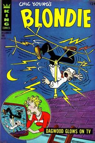 Blondie Comics #166 comic books for sale