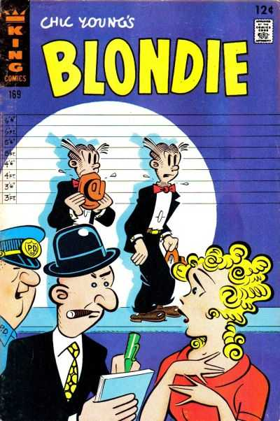 Blondie Comics #169 comic books for sale