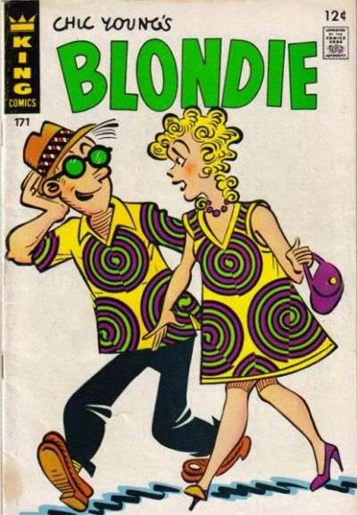 Blondie Comics #171 comic books for sale
