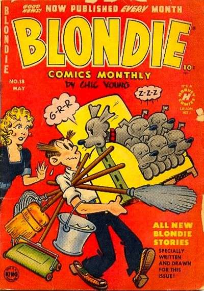 Blondie Comics #18 comic books for sale