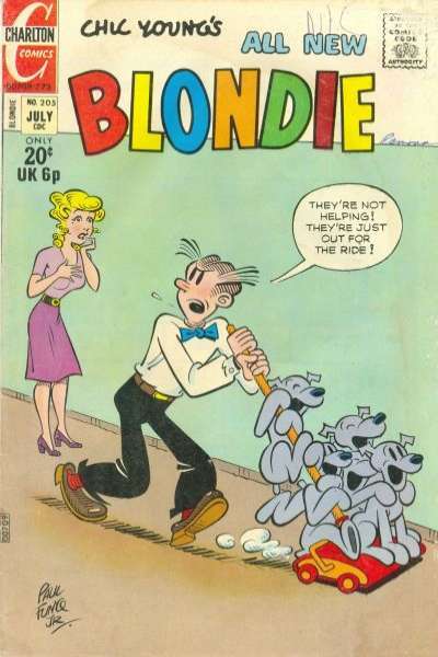 Blondie Comics #205 comic books for sale