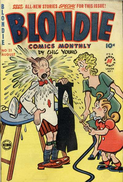 Blondie Comics #21 comic books for sale