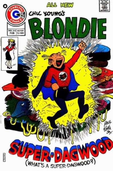 Blondie Comics #212 comic books for sale
