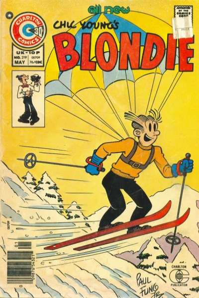Blondie Comics #219 comic books for sale