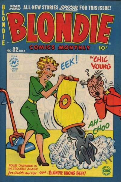 Blondie Comics #32 comic books for sale