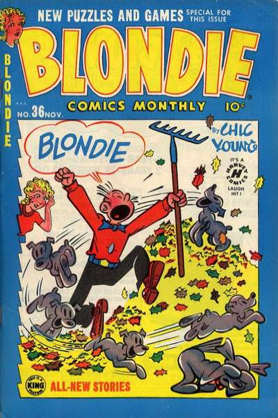 Blondie Comics #36 comic books for sale