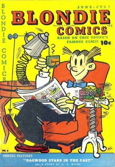 Blondie Comics #6 comic books for sale