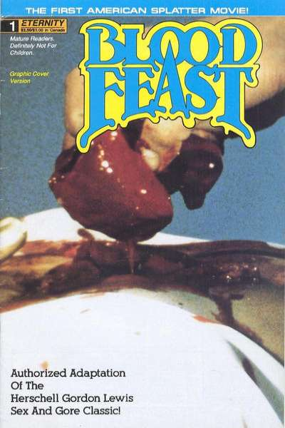 Blood Feast comic books