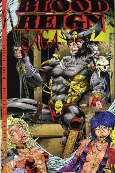 Blood Reign Saga #1 comic books for sale