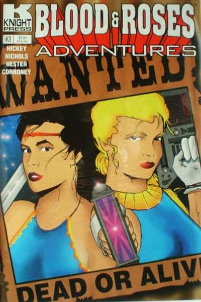 Blood & Roses Adventures #3 comic books for sale