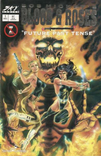 Blood & Roses: Future Past Tense comic books