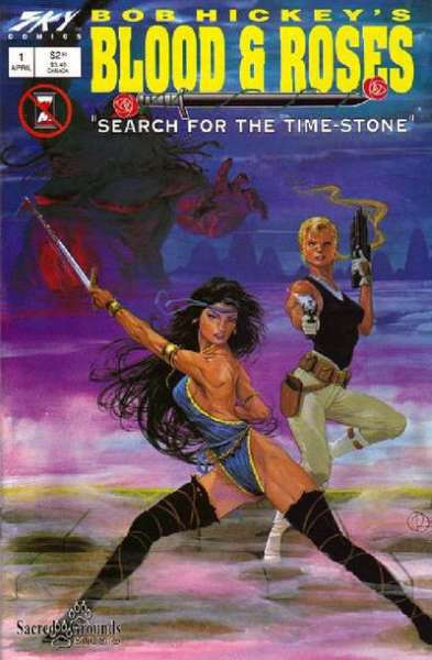 Blood & Roses: Search for the Time Stone comic books