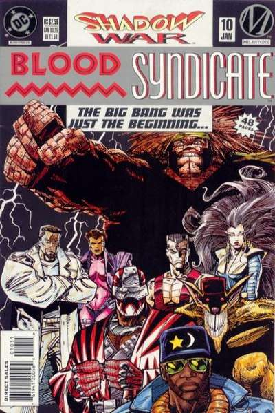 Blood Syndicate #10 Comic Books - Covers, Scans, Photos  in Blood Syndicate Comic Books - Covers, Scans, Gallery