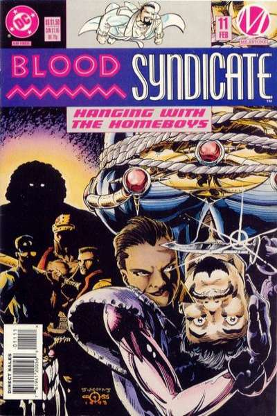 Blood Syndicate #11 comic books for sale