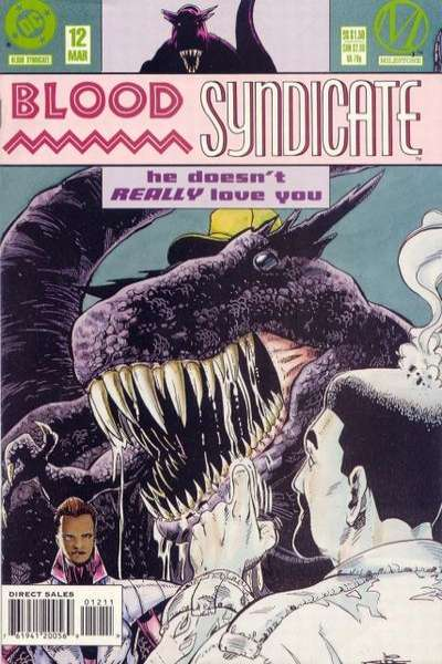 Blood Syndicate #12 comic books for sale