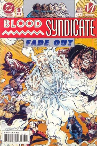 Blood Syndicate #9 comic books for sale
