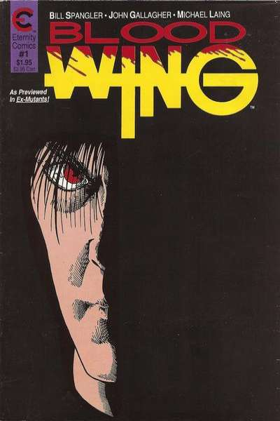 Blood Wing comic books