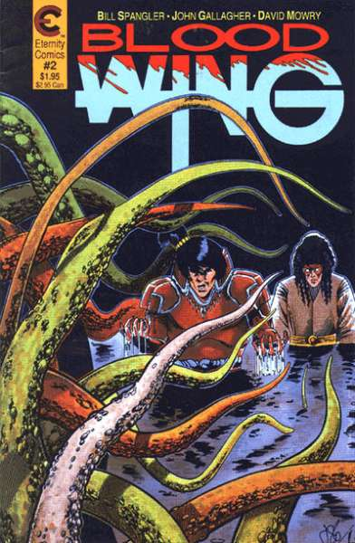 Blood Wing #2 Comic Books - Covers, Scans, Photos  in Blood Wing Comic Books - Covers, Scans, Gallery