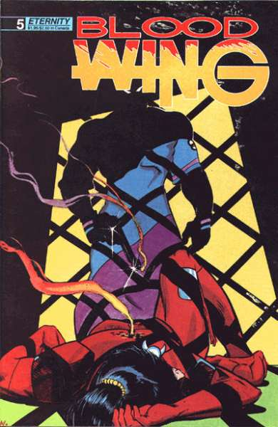 Blood Wing #5 Comic Books - Covers, Scans, Photos  in Blood Wing Comic Books - Covers, Scans, Gallery
