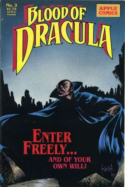 Blood of Dracula #3 Comic Books - Covers, Scans, Photos  in Blood of Dracula Comic Books - Covers, Scans, Gallery