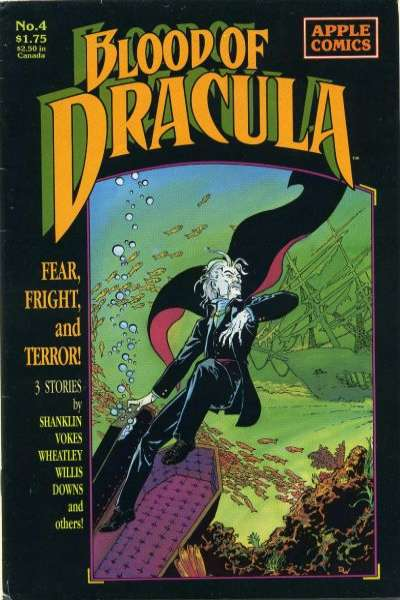 Blood of Dracula #4 Comic Books - Covers, Scans, Photos  in Blood of Dracula Comic Books - Covers, Scans, Gallery