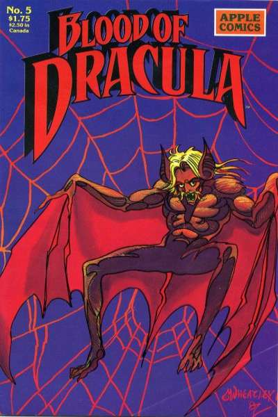 Blood of Dracula #5 Comic Books - Covers, Scans, Photos  in Blood of Dracula Comic Books - Covers, Scans, Gallery