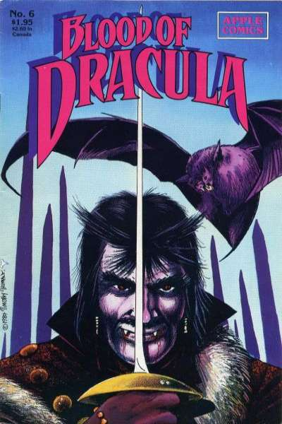 Blood of Dracula #6 comic books - cover scans photos Blood of Dracula #6 comic books - covers, picture gallery