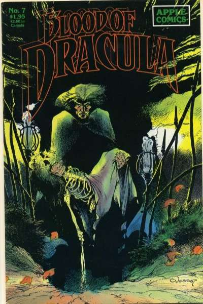 Blood of Dracula #7 comic books - cover scans photos Blood of Dracula #7 comic books - covers, picture gallery