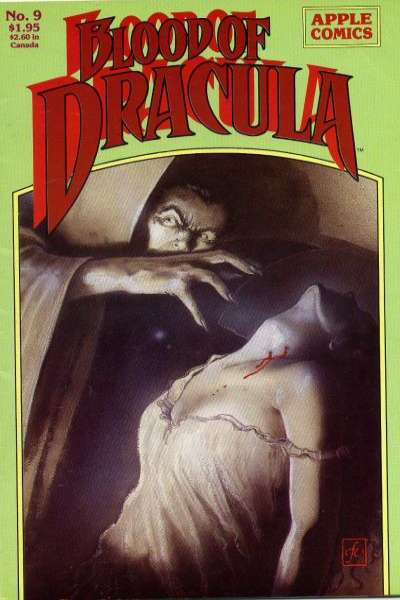 Blood of Dracula #9 comic books - cover scans photos Blood of Dracula #9 comic books - covers, picture gallery