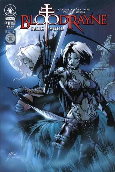 Bloodrayne: Dark Soul #1 comic books - cover scans photos Bloodrayne: Dark Soul #1 comic books - covers, picture gallery