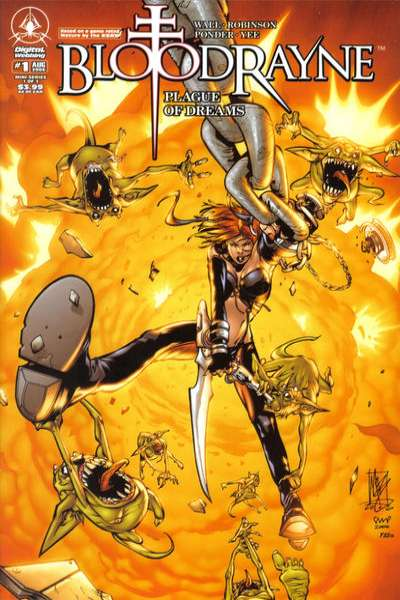 Bloodrayne: Plague of Dreams comic books