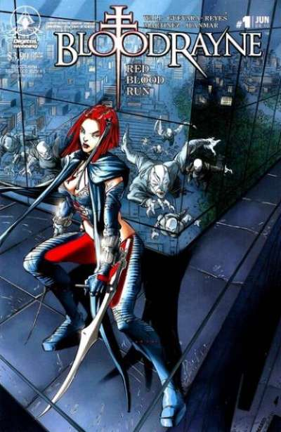 Bloodrayne: Red Blood Run Comic Books. Bloodrayne: Red Blood Run Comics.