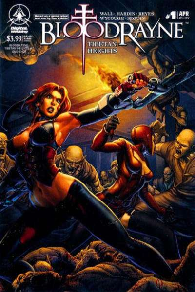 Bloodrayne: Tibetan Heights #1 comic books - cover scans photos Bloodrayne: Tibetan Heights #1 comic books - covers, picture gallery