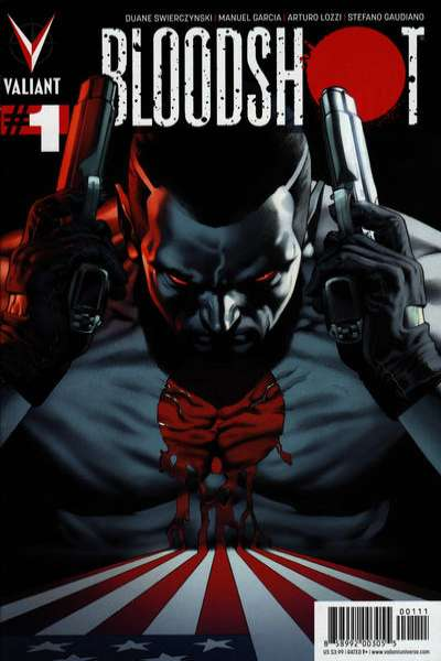 Bloodshot #1 Comic Books - Covers, Scans, Photos  in Bloodshot Comic Books - Covers, Scans, Gallery