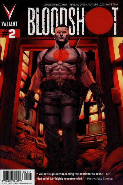 Bloodshot #2 Comic Books - Covers, Scans, Photos  in Bloodshot Comic Books - Covers, Scans, Gallery