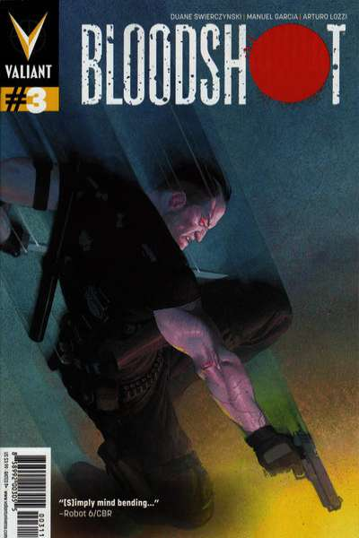 Bloodshot #3 Comic Books - Covers, Scans, Photos  in Bloodshot Comic Books - Covers, Scans, Gallery