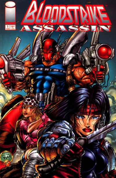 Bloodstrike Assassin # comic book complete sets Bloodstrike Assassin # comic books