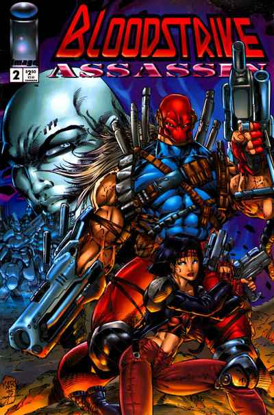 Bloodstrike Assassin #2 comic books for sale