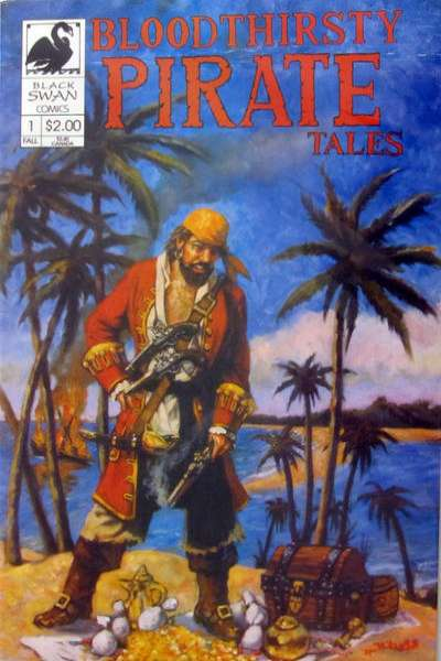 Bloodthirsty Pirate Tales comic books