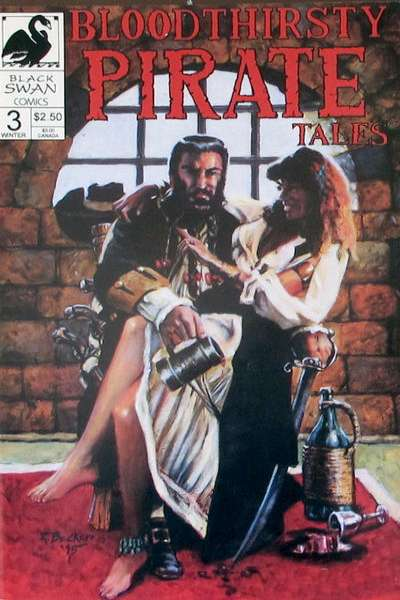 Bloodthirsty Pirate Tales #3 comic books for sale