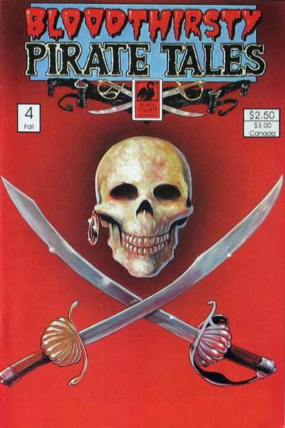 Bloodthirsty Pirate Tales #4 comic books for sale