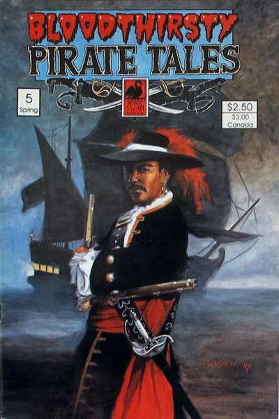 Bloodthirsty Pirate Tales #5 comic books for sale