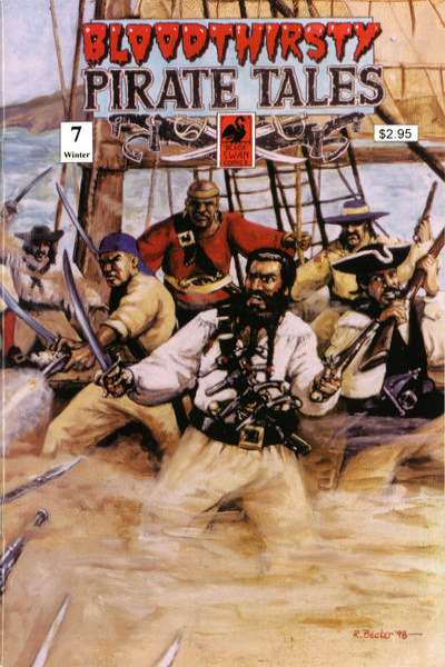 Bloodthirsty Pirate Tales #7 comic books for sale