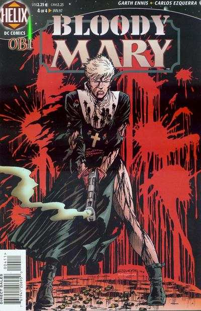 Bloody Mary #4 comic books - cover scans photos Bloody Mary #4 comic books - covers, picture gallery