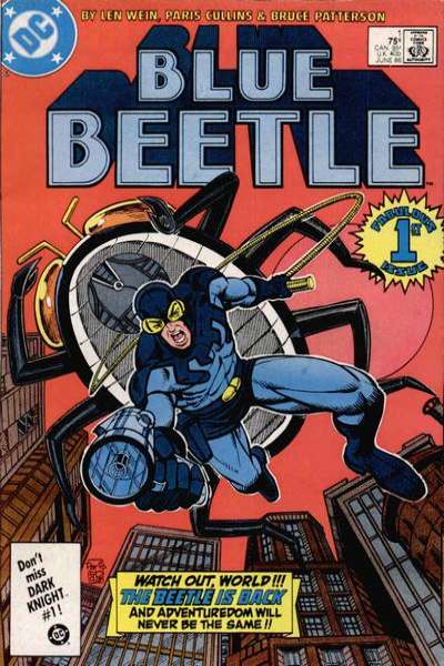 Blue Beetle #1 Comic Books - Covers, Scans, Photos  in Blue Beetle Comic Books - Covers, Scans, Gallery