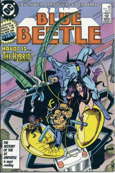Blue Beetle #11 Comic Books - Covers, Scans, Photos  in Blue Beetle Comic Books - Covers, Scans, Gallery