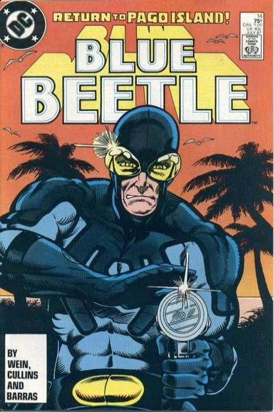 Blue Beetle #14 comic books for sale