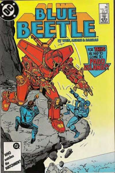 Blue Beetle #15 Comic Books - Covers, Scans, Photos  in Blue Beetle Comic Books - Covers, Scans, Gallery